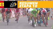 Resumen - Etapa 10 - Tour de France 2017