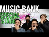 MUSIC BANK   TOUCH MY BODY x LOVING U Stage Reaction [4LadsReact]