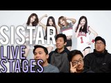 SISTAR | STRING x I LIKE THAT LIVE STAGE Reactions [4LadsReact]
