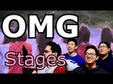 OH MY GIRL | WINDY DAY LIVE STAGE Reaction [4LadsReact]