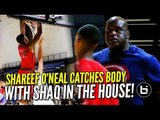 Shaq Shows up in Atlanta, Shareef O' Neal Responds with a BODY!