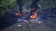 Seize morts dans le crash d'un avion militaire cette nuit dans l'Etat du Mississippi, dans le sud des Etats-Unis