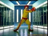 Sonic McDonald's Commercial French