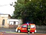 Incendie rue de Tarare mardi 11 juillet au soir à Villefranche/Saône