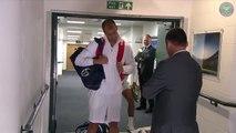 Rafael Nadal brise le plafond par un coup de tête !!