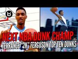 The Next NBA Dunk Champ! OKC Thunder Terrance Ferguson Top Ten Dunks!