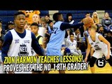 Zion Harmon Proves He's the No. 1 8th Grader at NEO Elite! Camp Highlights!