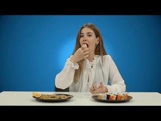 Hamsi Tava vs Sushi