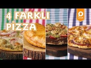 4 Farklı Pizza Tarifi - Onedio Yemek - Tek Malzeme Çok Tarif