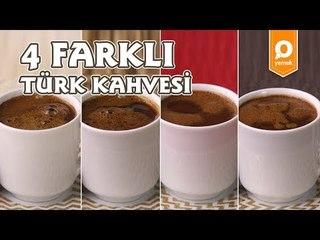 4 Farklı Lezzette Türk Kahvesi Tarifi - Onedio Yemek - İçecek Tarifleri