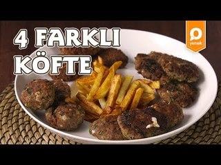4 Farklı Köfte Tarifi - Onedio Yemek - Tek Malzeme Çok Tarif