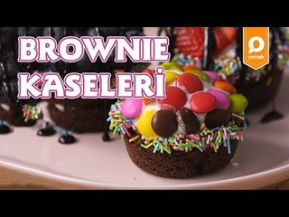 Brownie Kaseleri Tarifi - Onedio Yemek - Tatlı Tarifleri