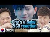 Koreans react to ZICO (지코) - She's a Baby MV [Korean Bros]
