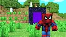Devient noir réal réaliste homme araignée minecraft vie réaliste tourné lhomme araignée steve