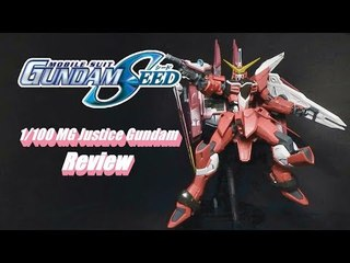1/100 MG Justice Gundam Review