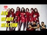 [4LadsReact] AOA - OH BOY MV Reaction