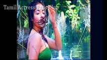 Kiran hot sexy in Green wet Dress
