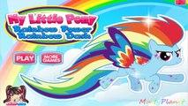 Petit mon poney puissance arc en ciel sur poney russe ma petite force darc-en-Applejack applej