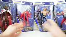 WWE Sting, Edge, Jerry Lawler & Booker T Hall of Fame HOF Exclusive Elite Toy Unboxing & R