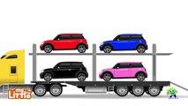 Et voiture voiture dessin animé enfants un camion utilisation utilisation Véhicules Transport |