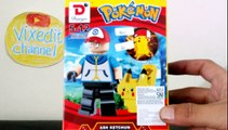 LEGO FUN - HOW TO BUILD POKEMON LEGO PIKACHU CHARMANDER SQUIRTLE