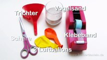 Bricolage balle pétrissage faire des balles de jonglage malléable balle anti-stress se bricoler même Anle