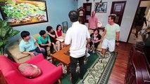 Gia đình là số 1 sitcom  hậu trường 15 Gin Tuấn Kiệt cười lăn lóc với màn quăng miếng của Phát La