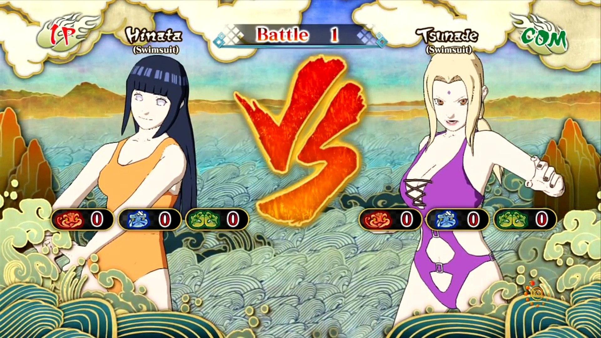 Naruto Shippuden Ultimate Ninja Storm 3 swimsuit pack DLC