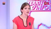 """Bureau politique : Aurore Bergé trouve """"grotesque"""" les sanctions"""