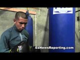 mikey garcia sparring partner HE HITS HARD - esnews boxing