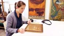 Quimper (29). Dans les petits papiers de Marine, restauratrice d'oeuvres d'art