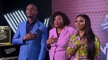 "Sandra Osamor sings ""Nigerian National Anthem"" - Blind Auditions - The Voice Nigeria Season 2"