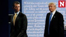 Donald Trump defends his son after email revelations show meeting with Kremlin-linked lawyer