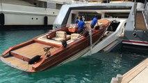 Vie de milliardaire - Comment garer son bateau hors-bord dans son yacht