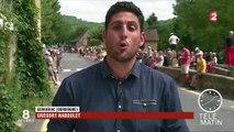 Le Tour de France arrive au pied des Pyrénées