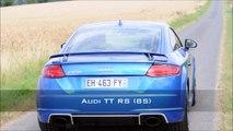 Audi TT RS 8S (2017) - L5 turbo big sound & sport exhaust