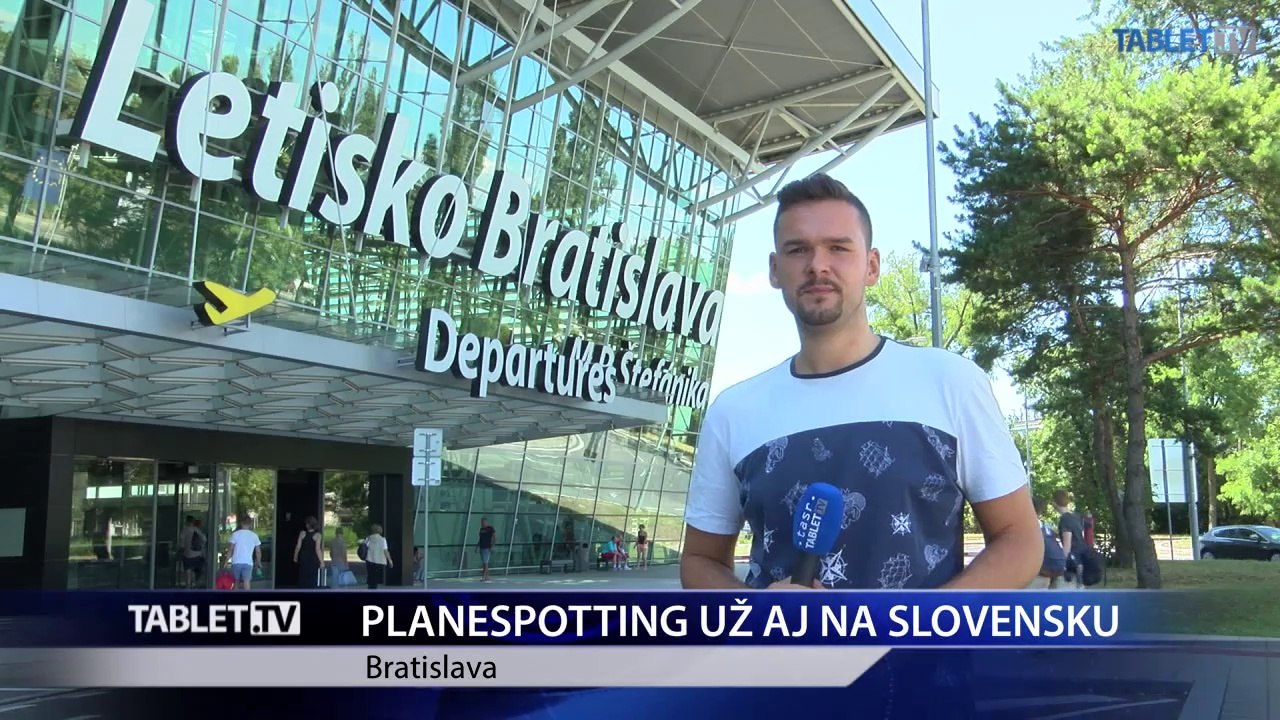 Bratislavské letisko prelomilo rekord a zavádza planespotting