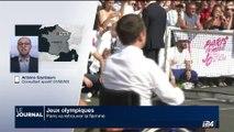 Jeux Olympiques: Paris retrouve la flamme