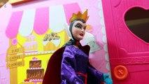 Pomme maison de poupées mal gelé kidnapper Lalaloopsie Princesse reine neige jouets blanc Disney poison