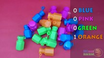 Learn Colors for Children with Colored Bubbles Bottles TOP Blowing Bubble Colours Learning