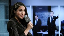 Meghan Markle Makes Rare Appearance at 'Suits' 100th Episode Party