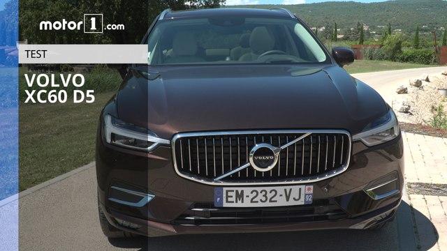 Essai - Volvo XC60 D5