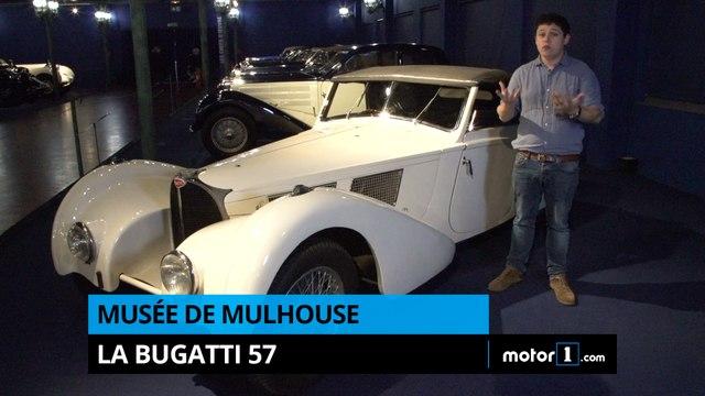 Musée de Mulhouse - La Bugatti 57