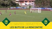 FC Nantes - Servette FC : les buts de la rencontre