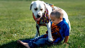 Dog Helps Boy With Autism Stop Having Nightmares