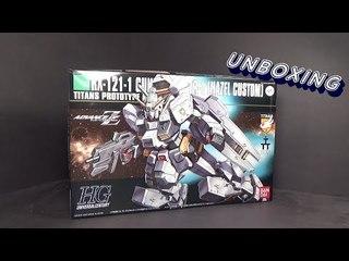 Unboxing: 1/144 HGUC Gundam Hazel