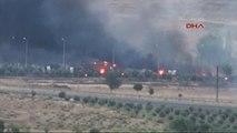 Kilis Askeri Konteyner Bölgesinde Mühimmat Patlaması ve Yangın