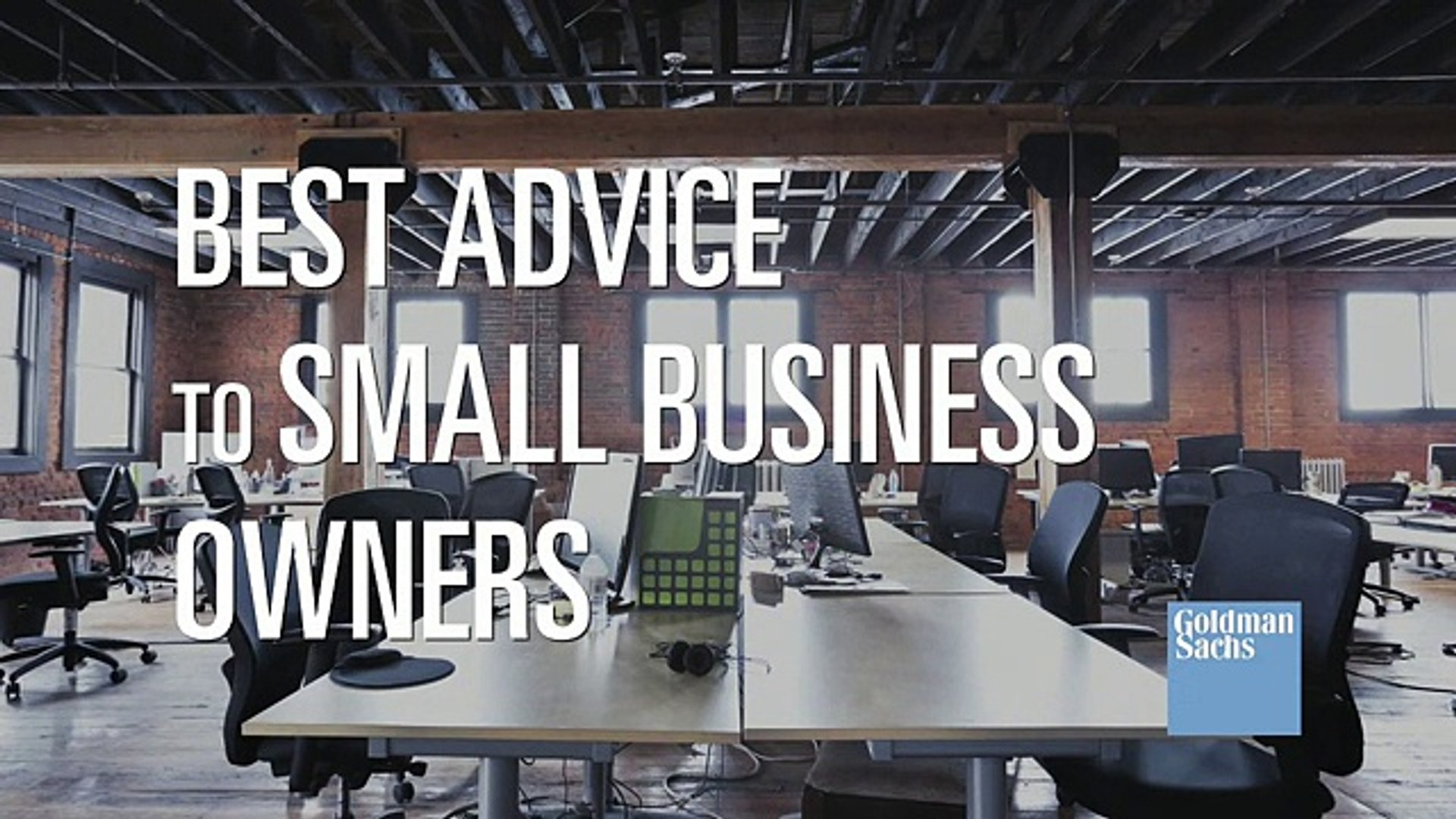 Best Advice to Small Business Owners
