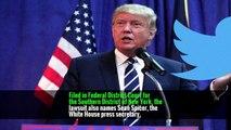 Twitter Users Blocked by Trump File Lawsuit