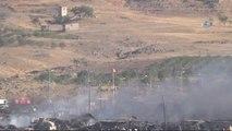 Kilis Askeri Konteynerdeki Yangın Söndürüldü